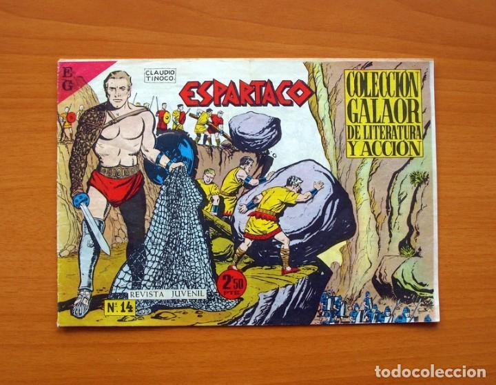 ESPARTACO Nº 14 - EDICIONES GALAOR 1964 (Tebeos y Comics - Galaor)