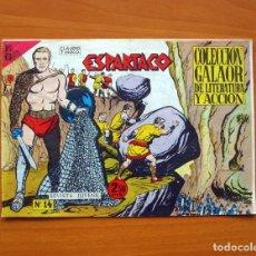 Tebeos: ESPARTACO Nº 14 - EDICIONES GALAOR 1964. Lote 72237271