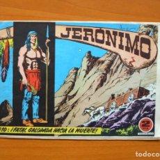 Tebeos: JERÓNIMO Nº 10 - EDICIONES GALAOR 1964. Lote 72237679