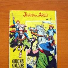 Tebeos: JUANA DE ARCO Nº 3 - EDICIONES GALAOR 1965. Lote 72237939