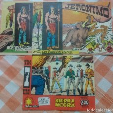 Tebeos: JERONIMO Nº 20 Y 25 (GALAOR) + TIM 7 TIROS Nº 74 (HISPANO AMERICANA) 3 TEBEOS DE 1.964.. Lote 56263331