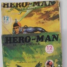 Tebeos: HERON MAN. EL INEXORABLE. LOTE DE TRES NÚMEROS. Lote 80842219