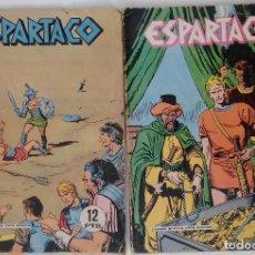 Tebeos: ESPARTACO. LOTE DE DOS REVISTAS. Lote 81130168