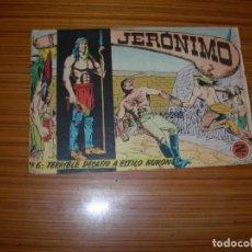 Tebeos: JERONIMO Nº 6 EDITA GALAOR . Lote 82279092