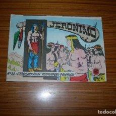 Tebeos: JERONIMO Nº 22 EDITA GALAOR . Lote 82280420
