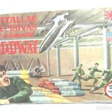 Tebeos: BATALLAS DECISIVAS DE LA HUMANIDAD MIDWAY. 2ª PARTE. EDICIONES GALAOR. Lote 83450396