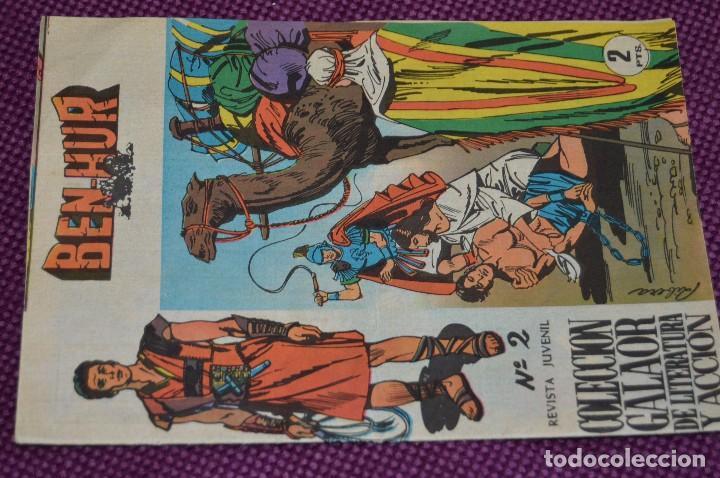 BEN HUR - EJEMPLAR Nº 2 - COLECCIÓN GALAOR DE LITERATURA Y ACCIÓN - GALAOR - HAZME OFERTA (Tebeos y Comics - Galaor)