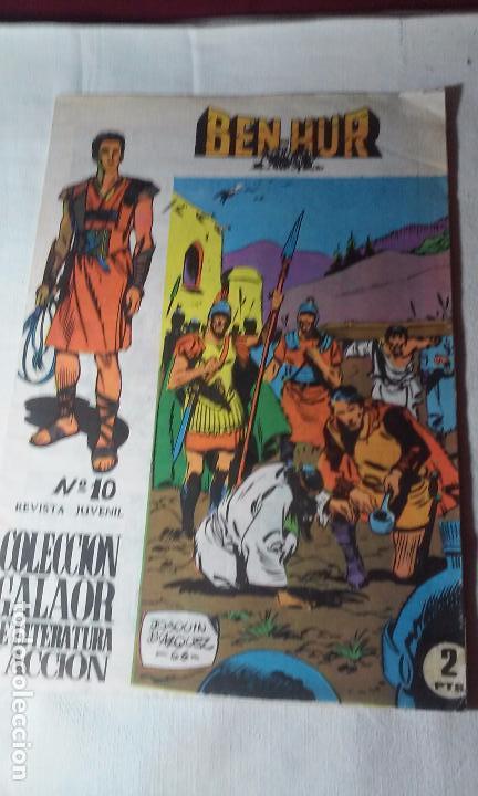 COMIC BEN-HUR NUMERO 10 -GALAOR- (Tebeos y Comics - Galaor)