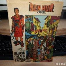 Tebeos: BEN-HUR - COLECCIÓN COMPLETA DE 10 NÚMEROS - ORIGINAL - GALAOR. Lote 93116065