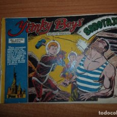 BDs: YANKY BOYS Nº 10, EDITORIAL FERMA 1956 ORIGINAL . Lote 93708875