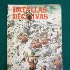 Tebeos: BATALLAS DECISIVAS, PEARL - HARBOUR, GALAOR, 1970. Lote 96044387