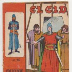 Tebeos: EL CID Nº 16. GALAOR 1965-66. . Lote 97277743