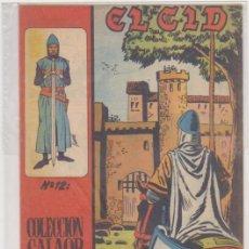 Tebeos: EL CID Nº 12. GALAOR 1965-66. . Lote 97279055
