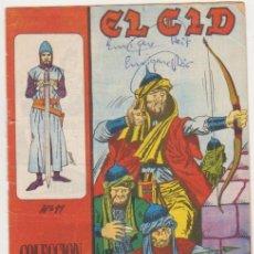 Tebeos: EL CID Nº 11. GALAOR 1965-66. . Lote 97279367