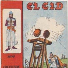 Tebeos: EL CID Nº 10. GALAOR 1965-66. MUY ESCASO.... Lote 97279771