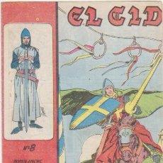 Tebeos: EL CID Nº 8. GALAOR 1965-66. . Lote 97280211