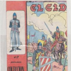 Tebeos: EL CID Nº 7. GALAOR 1965-66. . Lote 97280375
