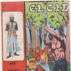 Tebeos: EL CID Nº 3. GALAOR 1965-66. . Lote 97280807