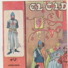 Tebeos: EL CID Nº 2. GALAOR 1965-66. . Lote 97280955