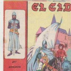 Tebeos: EL CID Nº 1. GALAOR 1966. . Lote 97281267