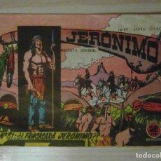 Tebeos: ¿¿FRACASARA JERONIMO??. Nº 31 DE JERONIMO. EDICIONES GALAOR. 1964. SOLDADOS DEL MUNDO. Lote 108072447