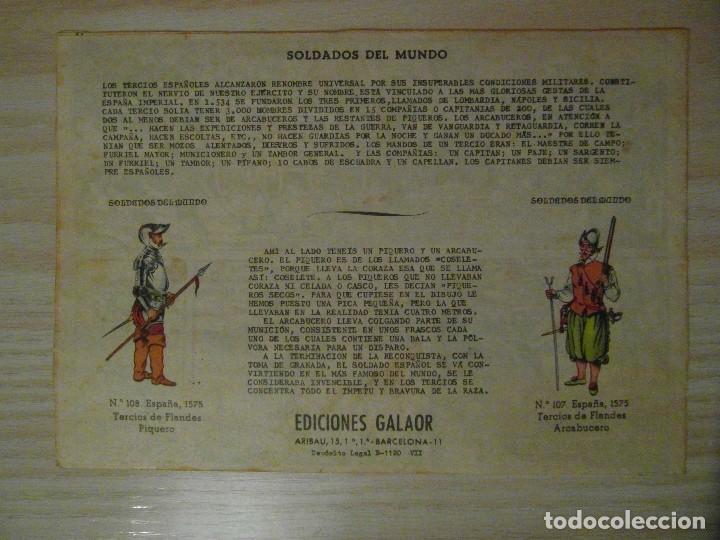 Tebeos: ¿¿Fracasara Jeronimo??. nº 31 de Jeronimo. Ediciones Galaor. 1964. Soldados del mundo - Foto 2 - 108072447