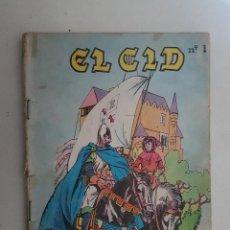 Tebeos: EL CID. Nº 1. GALAOR.. Lote 109105155