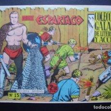 Tebeos: ESPARTACO Nº 15. Lote 109296559