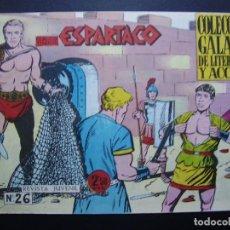 Tebeos: ESPARTACO Nº 26 Y ULTIMO. Lote 109297015