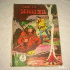 Livros de Banda Desenhada: BIOGRAFIA DE BUFALO BILL, ED. GALAOR. Lote 113104703