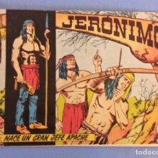 Tebeos: LOTE DE 7 COMICS JERONIMO EDICIONES GALAOR EN MUY BUEN ESTADO ORIGINALES. Lote 114332339