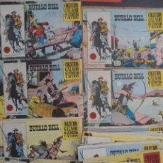 Tebeos: BUFFALO BILL (EDICIONES GALAOR) COLECCION ORIGINAL CASI COMPLETA 22 NUMEROS, MUY BUENA. Lote 121885983