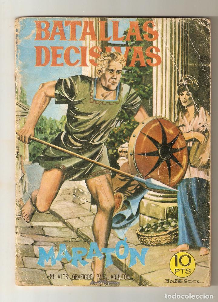 BATALLAS DECISIVAS Nº 8 - 1970 10PTS - MARATON - EDICIONES GALAOR - (Tebeos y Comics - Galaor)