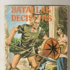 Tebeos: BATALLAS DECISIVAS Nº 8 - 1970 10PTS - MARATON - EDICIONES GALAOR -. Lote 124232439