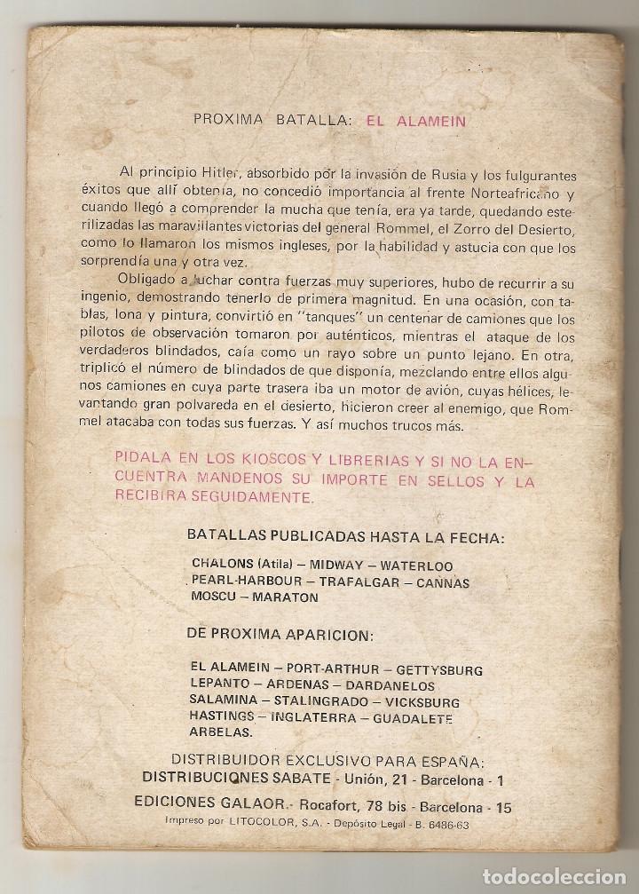 Tebeos: BATALLAS DECISIVAS Nº 8 - 1970 10PTS - MARATON - EDICIONES GALAOR - - Foto 2 - 124232439