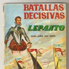 Livros de Banda Desenhada: BATALLAS DECISIVAS Nº 18 - 1970 10PTS - LEPANTO - EDICIONES GALAOR -. Lote 124233567