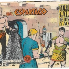 Tebeos: ESPARTACO Nº 26 - GALAOR EXCELENTE ESTADO . Lote 126784103