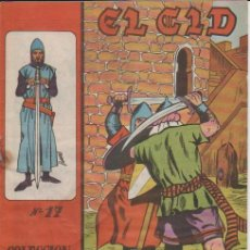 Tebeos: EL CID ( GALAOR ) 1966 LOTE CASI COMPLETO FALTA Nº.16. Lote 128693079
