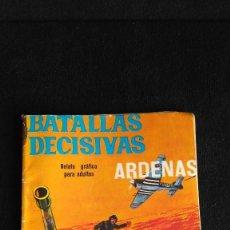 Tebeos: BATALLAS DECISIVAS. ARDENAS. 10 PTS. Lote 128809135