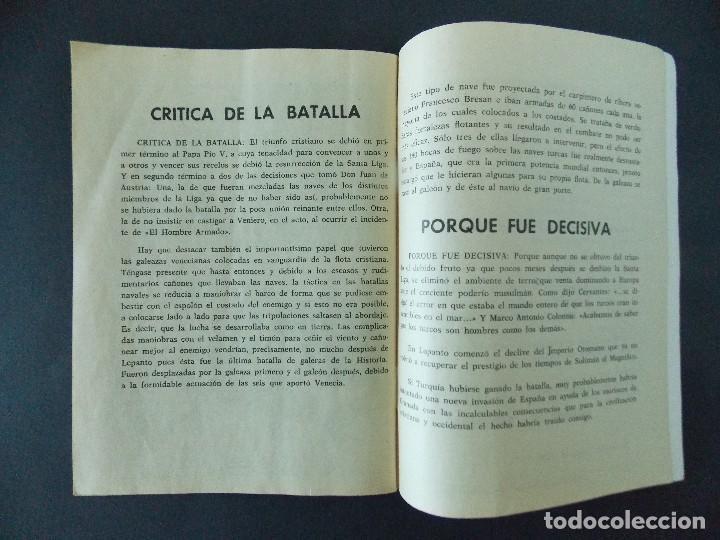 Tebeos: BATALLAS DECISIVAS, LEPANTO - EDICIONES GALAOR - AÑOS 60 - BUEN ESTADO...R-9984 - Foto 4 - 129068355