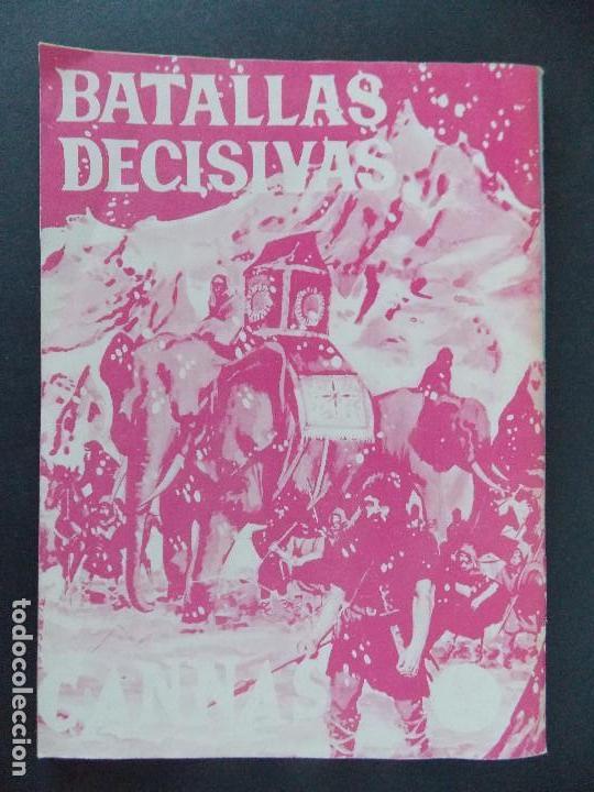 Tebeos: BATALLAS DECISIVAS, LEPANTO - EDICIONES GALAOR - AÑOS 60 - BUEN ESTADO...R-9984 - Foto 5 - 129068355