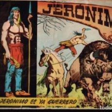 Tebeos: JERONIMO. Nº-2 JERONIMO ES YA GUERRERO. EDICIONES GALAOR. 1964. Lote 132196474