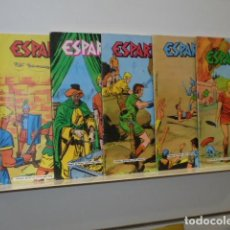 Livros de Banda Desenhada: ESPARTACO LOTE CON LOS Nº 1-2-3-5-6 - GALAOR. Lote 132316014