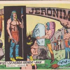 Tebeos: COMIC COLECCION JERONIMO Nº 25. Lote 132885474