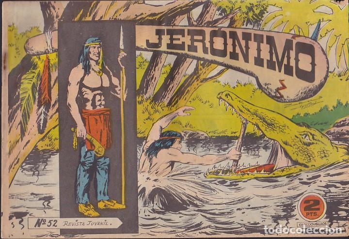 COMIC COLECCION JERONIMO Nº 52 (Tebeos y Comics - Galaor)