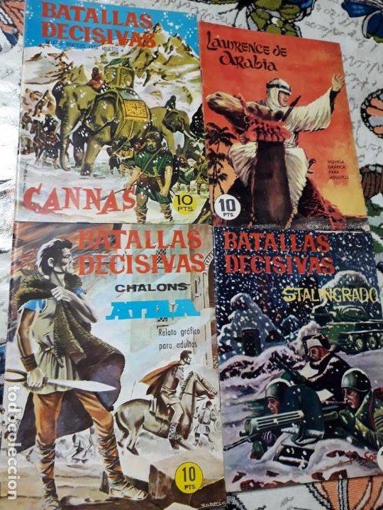 BATALLAS DECISIVAS 3 NUMEROS VER FOTOS LEER DESCRIPCION (Tebeos y Comics - Galaor)