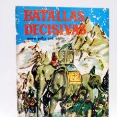 Tebeos: BATALLAS DECISIVAS 11. CANNAS (NO ACREDITADO) GALAOR, 1967. Lote 138532214