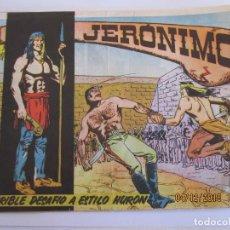 Tebeos: JERONIMO Nº 6 TERRIBLE DESAFIO A ESTILO HURON EDICIONES GALAOR . Lote 142618178