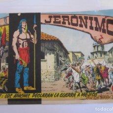 Tebeos: JERONIMO Nº 7: LOS APACHES DECLARAN LA GUERRA A MEJICO EDICIONES GALAOR . Lote 142619078