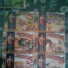 Tebeos: LOTE DE 6 COMICS DE JERONIMO ,EDICCIONES GALAOR ANTIGUOS. Lote 143591346